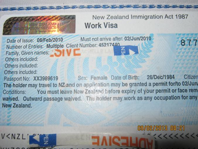 a foot in the door... the work visa, formerly known as a work permit :)