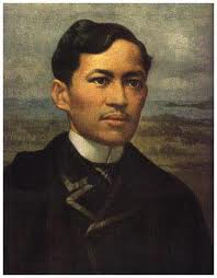Dr Jose Rizal, the pride of the Malay race.