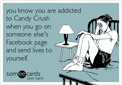 ...and it only takes a few minutes to turn you into a Candy Crush Saga addict. :(