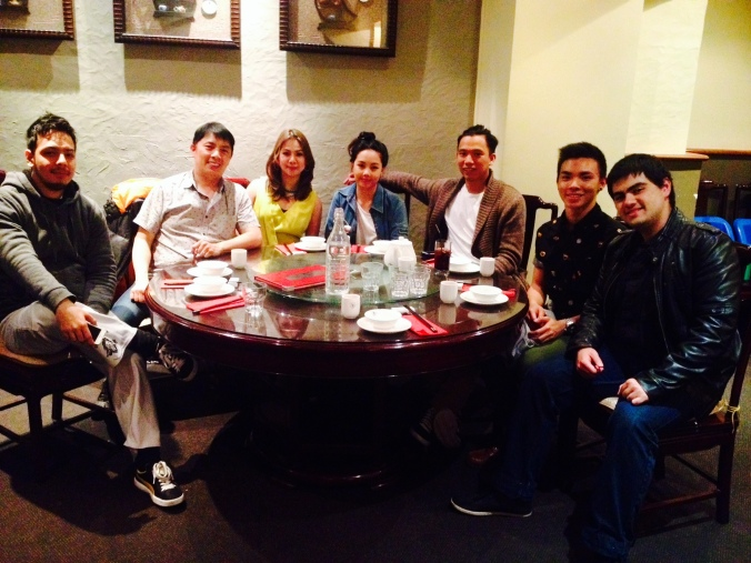 they hadn't known it yet, but a dinner I had with family was in thanksgiving for many blessings in NZ!