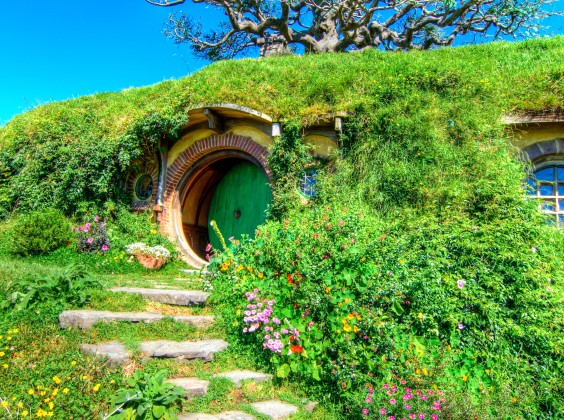 Hobbiton, a tourist spot that most working holiday visa holders schedule on their itinerary, on their days off work of course.  Thanks and acknowledgment to madison.co.nz for the pic!
