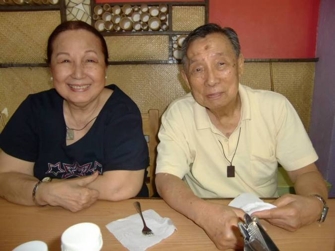 a recent photo of Mom and Dad, thanks & acknowledgment to the Dely Imperial photo library!  happy mothers' day to all!