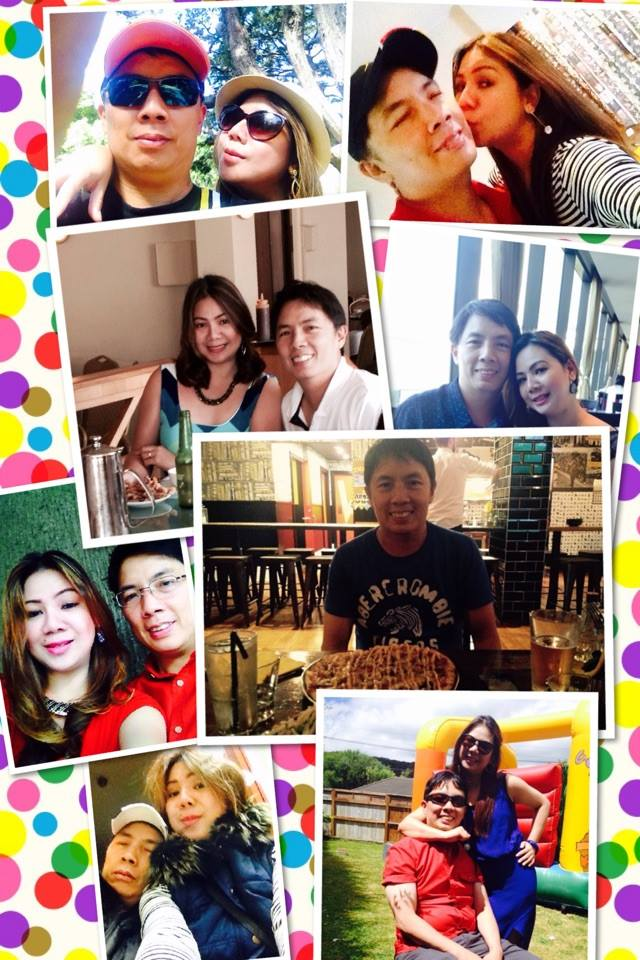 pic collage : a labor of love by Mahal. :) thanks for everything!