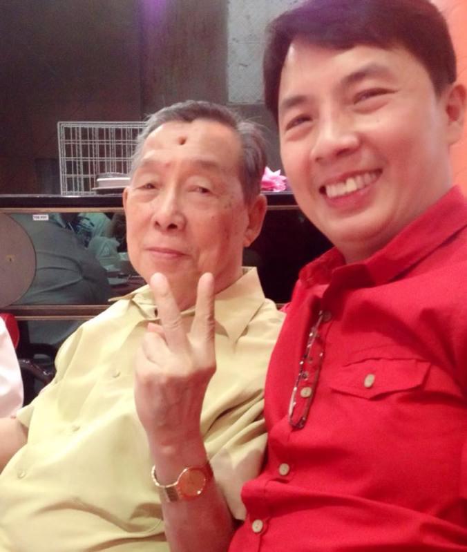 Dad & Your Loyal Blogger.  Happy Birthday Dad!