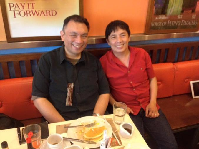 breakfast with Ambassador Domingo