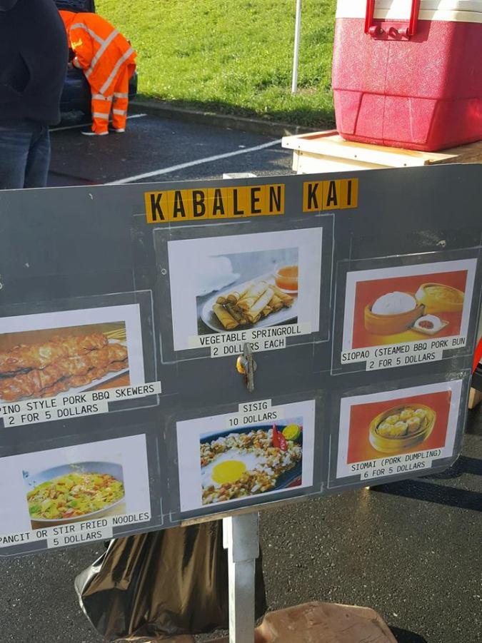 kabalen kai menu